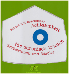 """Logo """"Schule mit besonderer Achtsamkeit für chronisch kranke Schülerinnen und Schüler"""""""