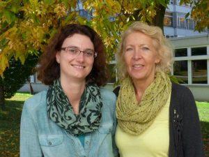 Frau Häfele und Frau Zodel