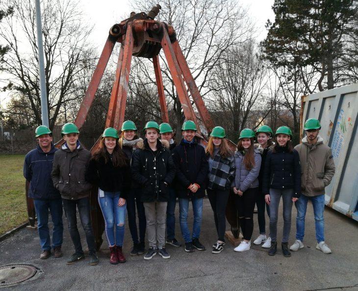 Seminarkurs Exkursion Müllheizkraftwerk