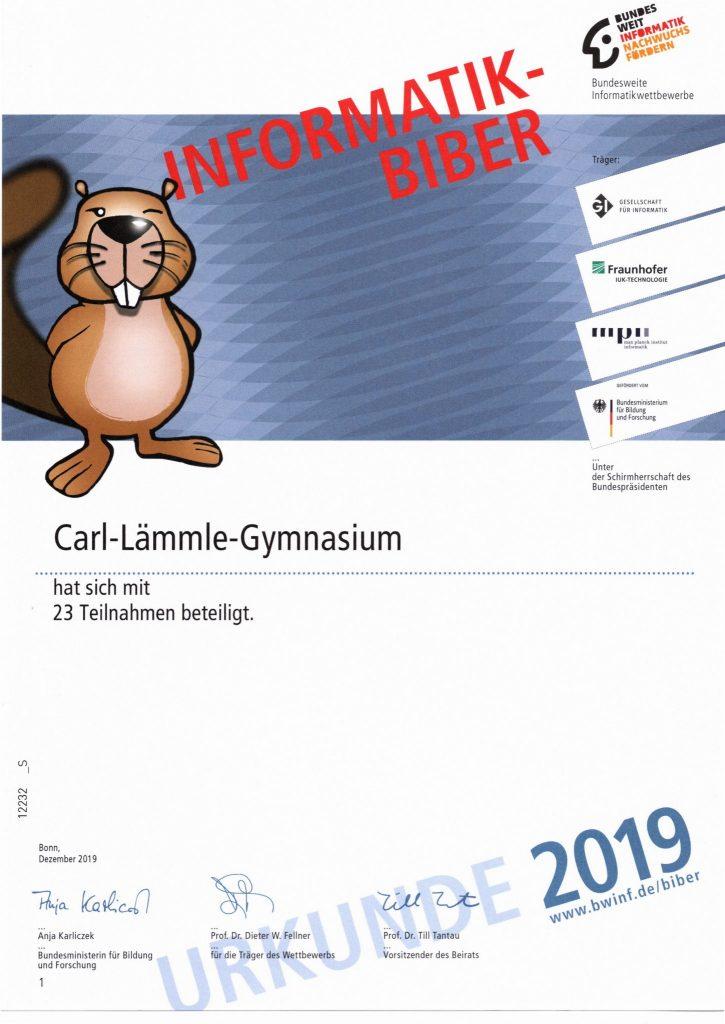 Biber-Informatik 2019