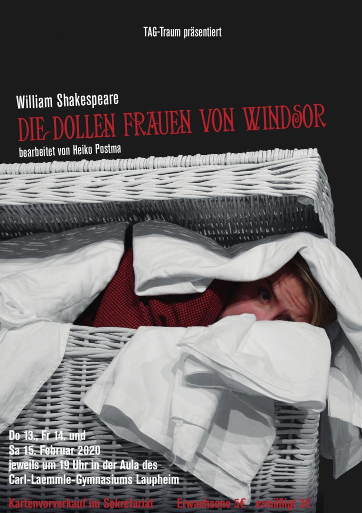 Plakat Die dollen Frauen von Windsor